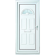 Kingsbury Fan-Light Front Door LH uPVC 920 x 2085mm